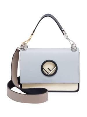 Fendi Kan I Color Block Shoulder Bag