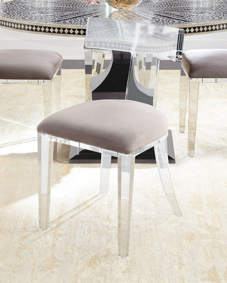 ... Interlude Home Nessy Acrylic Dining Chair