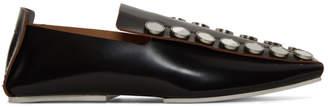 Jil Sander Black Mirror Slippers
