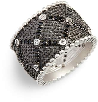 Freida Rothman Industrial Finish Cigar Band Ring