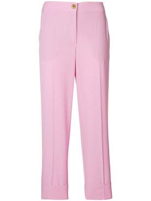 Salvatore Ferragamo cropped tailored trousers