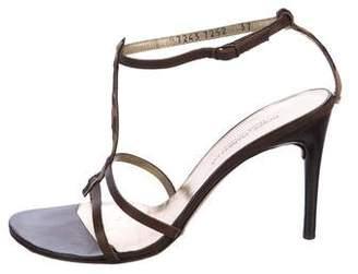 Dolce & Gabbana Embellished T-Strap Sandals
