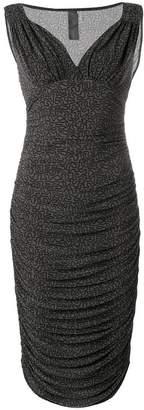 Norma Kamali Tara V-neck dress
