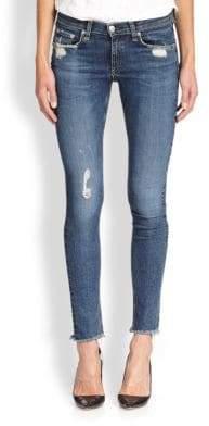rag & bone/JEAN La Paz Distressed Skinny Jeans