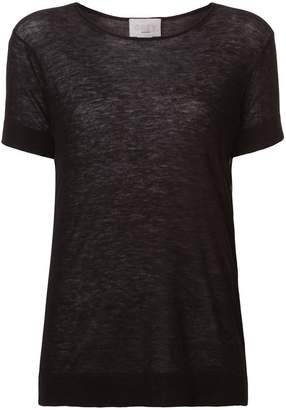 Jason Wu GREY short-sleeve fitted sweater