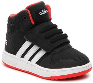 adidas Hoops Mid 2 Toddler High-Top Sneaker - Boy's