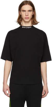 Palm Angels Black Over Logo T-Shirt