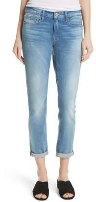 Frame Le Garcon Crop Slim Boyfriend Jeans