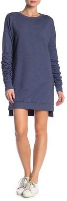 Solutions Ruched Sleeve Knit Dress