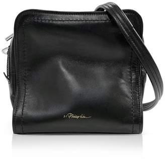 3.1 Phillip Lim Black Leather Hudson Mini Square Crossbody Bag