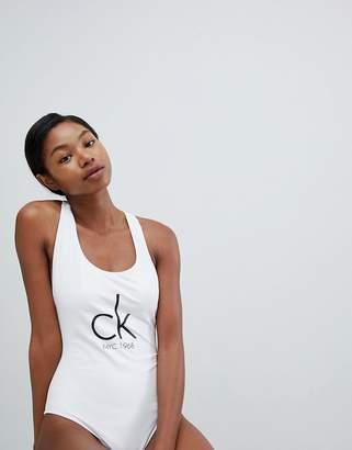 Calvin Klein Brazilian Logo Swimsuit