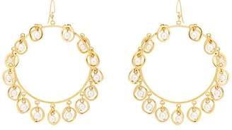 Mounser Women's Half Shell Hoop Earrings