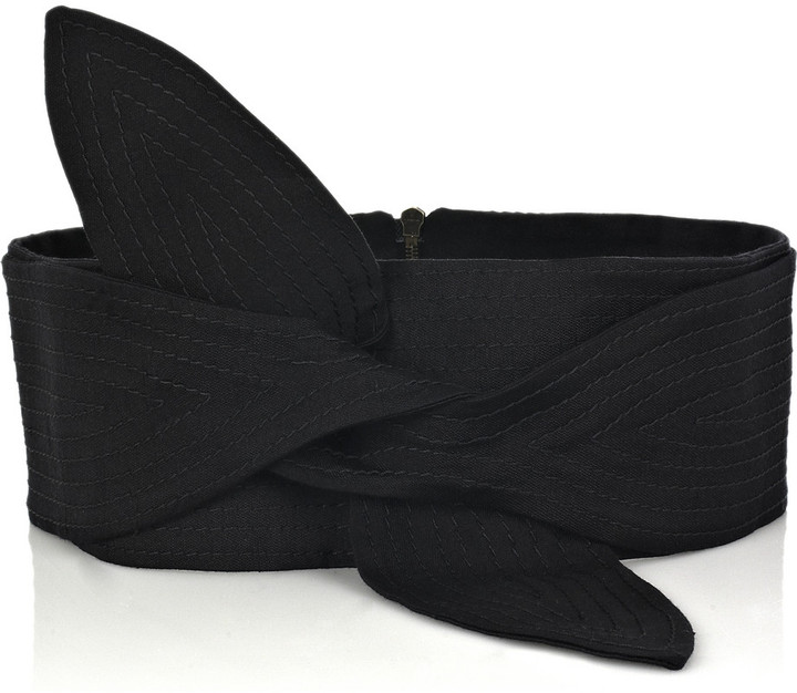 Stella McCartney Silk-blend Obi belt
