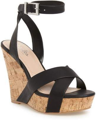Charles by Charles David Aleck Platform Wedge Sandal