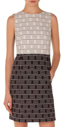 Akris Punto Lace Jacquard Dress