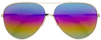 Victoria Beckham Victoria Rainbow aviator sunglasses