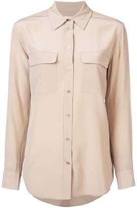 Equipment flap pocket shirt
