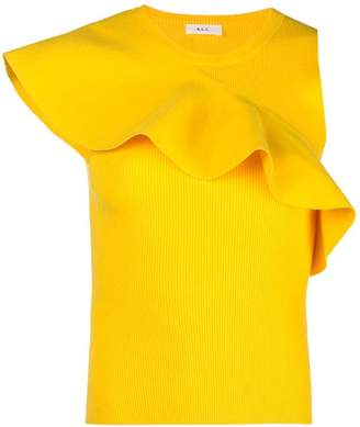 A.L.C. ruffle-trimmed top