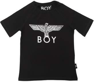 Boy London Logo Printed Cotton Jersey T-Shirt