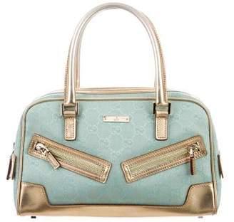 b529f3da748d Pre-Owned at TheRealReal · Gucci Metallic GG Mini Boston Bag
