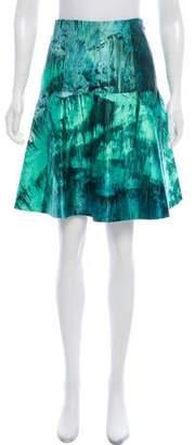 Proenza Schouler Printed Knee-Length Skirt