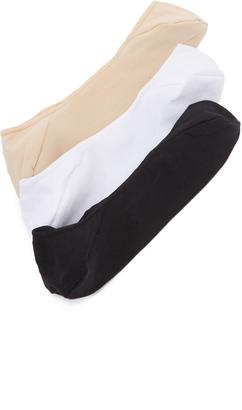 Calvin Klein Underwear No Show Socks Three Pack $18 thestylecure.com