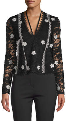 Alexis Women's Lace Embroidery Blouse