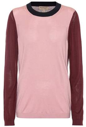 Burberry Silk and cashmere sweater