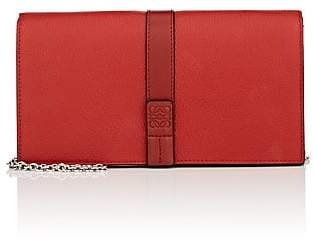 Loewe Women's Large Leather Chain Wallet