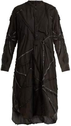 DAY Birger et Mikkelsen BY WALID Contrast-stitch cotton dress