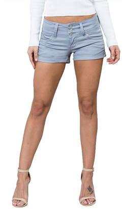 YMI Jeanswear 2 1/2 Denim Shorts-Juniors