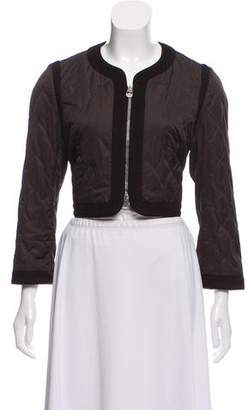 Paule Ka Quilted Crop Jacket