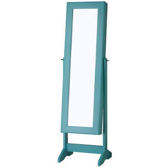 FINE JEWELRY Turquoise Cheval Free Standing Jewelry Armoire