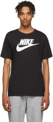 Nike Black Icon Futura T-Shirt