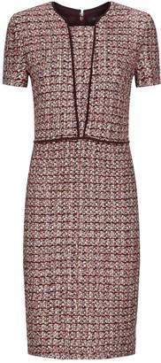 St. John Textured Knitted Dress