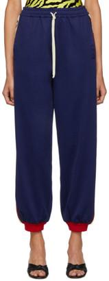 Gucci Blue GG Lounge Pants