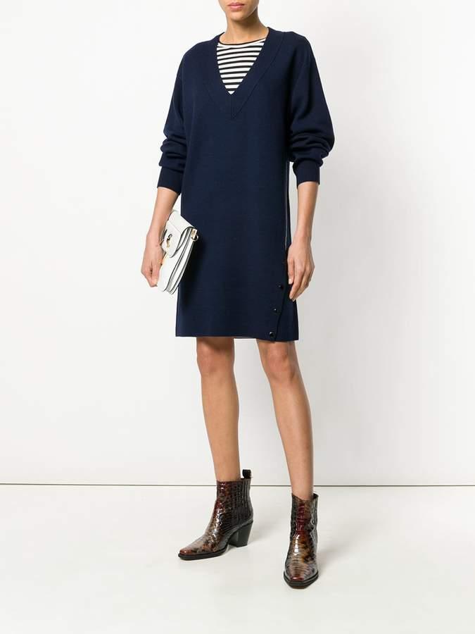 Rag & Bone knitted v-neck dress