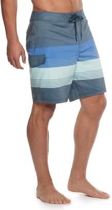 Men's Trinity Collective Blocko Striped Stretch Board Shorts