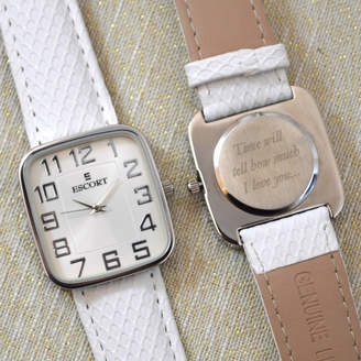 GiftsOnline4U Personalised Wrist Watch Square Dial