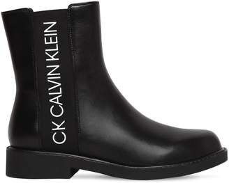 Calvin Klein Jeans 20mm Yoshi Leather Beatle Boots