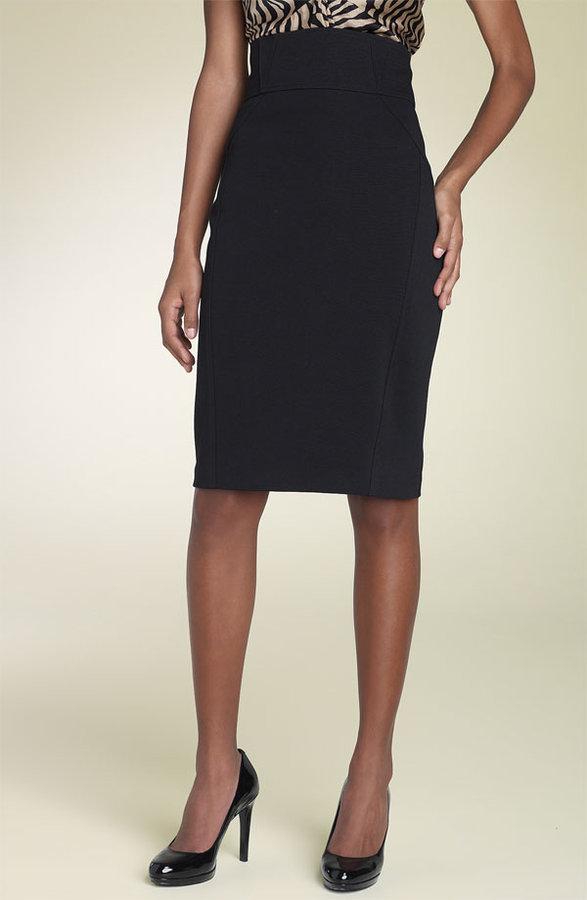 Diane von Furstenberg 'Zekka' Ponte Knit Skirt