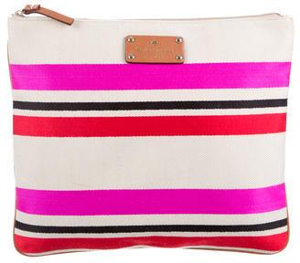 Kate SpadeKate Spade New York Striped Logo Travel Pouch