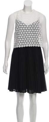 Erin Fetherston ERIN by Crocheted Mini Dress