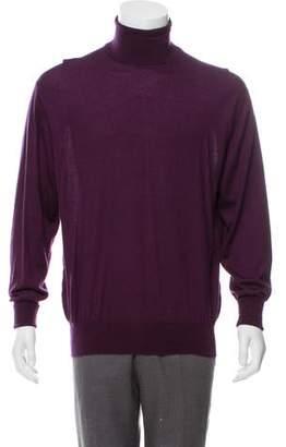 68c0dc720 Loro Piana Cashmere & Silk Turtleneck Sweater