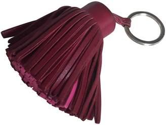 Hermes Carmen leather key ring