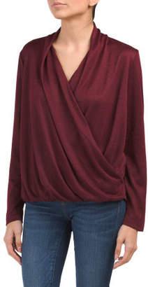 Surplice Cozy Knit Top