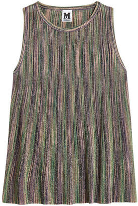 M Missoni Sleeveless Top with Metallic Thread