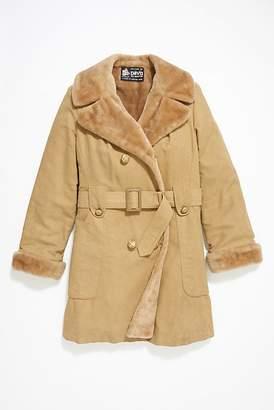 Vintage Loves Vintage Faux Fur Coat