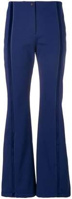 Fendi mid-rise flared ski trousers