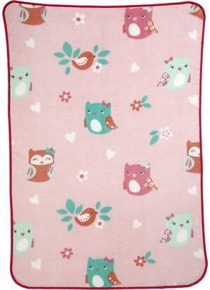 Carter's Too Cute To Hoot Allover Printed Blanket